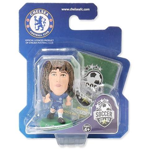 """Click zu öffnen Erweitert View SoccerStarz soc137""""Chelsea David Luiz 2018Version Home Kit"""" Zahlen"""