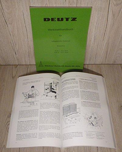 Preisvergleich Produktbild Werkstatthandbuch Deutz Motor F / A 1-6 L 514 F / A 6-12 614