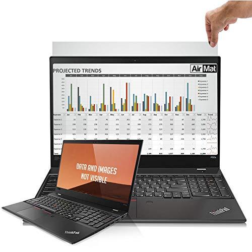 Premium Blickschutzfilter fur 11.6 Zoll Laptop, Privacy Screen Filter, Anti-Spy Blickschutzfolie - von AirMat (11.6″ 16:9 Bildschirme) - Gold (Premium-touch-screen)