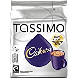 Tassimo Cadbury Hot Chocolate 240 g (Pack of 5, Total 40 Servings)