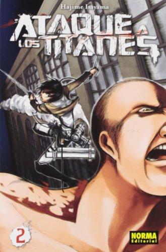 Ataque a los Titanes 2 (CÓMIC MANGA) por Hajime Isayama