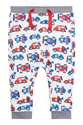 next Bimbo Confezione Da Due Pantaloni Da Jogging Multicolore Con Macchine Da Corsa (0-2 Anni)