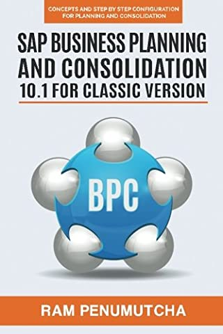 SAP Business Planning and Consolidation 10.1 for Classic Version: Concepts