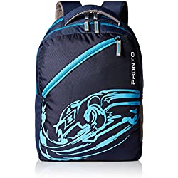 Pronto Passion 20 Ltrs Navy Blue Casual Backpack (8803 - BL)