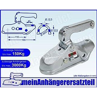 ALBE Berndes Zugkugelkupplung Kugelkupplung Zugrohr 50mm 51mm EM 300 R B 05650 für Pkw Anhänger