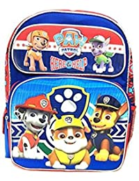 """2017 New Arrive Paw Patrol Chase, Marshall, Tan """" A Pawfect Team!"""" 16"""" Backpack By Licensed Backpack"""