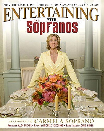 Click for larger image of Entertaining With The Sopranos: A Guide to Special Occasions