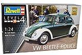 alles-meine.de GmbH VW Volkswagen Käfer Coupe Polizei 1968 07035 Bausatz Kit 1/24 Revell Modell Auto mit individiuellem Wunschkennzeichen