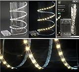 1m Lichterband mit 60 LEDs Lichterkette zuschneidbar selbstklebend Lichterketten Weihnachten Lichtband LED-Band Dekolichter LEDkette Lichterbänder
