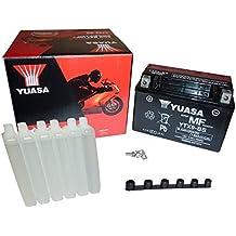 YUASA BATERIA YTX9-BS AGM abierto - con paquete de ácido