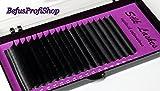 Silk Lashes C Curl 0,15 Seidenwimpern Einzelwimpern Soft Mink Wimpernverlängerung (Mix 7-15mm 18 Reihen (2x je Länge))