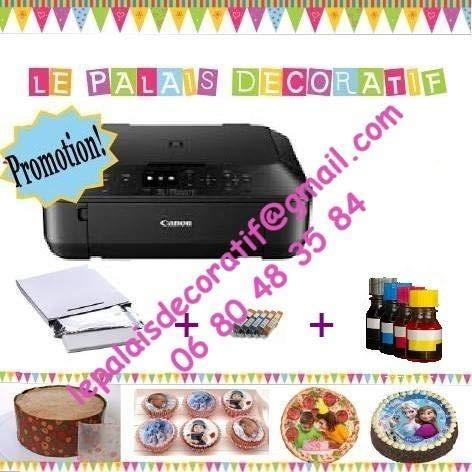 Impresora alimentaria A4 Kit (Cartuchos Recargables)