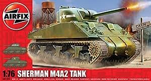Airfix A01303 Sherman M4 MK1 Tank 1:76 Scale Series 1 Plastic Model Kit