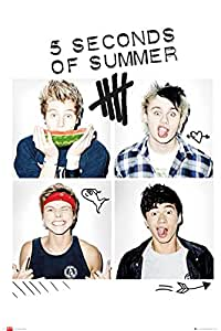 5 Seconds of Summer Squares Maxi Poster 61x91.5cm