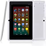"BTC Flame UK Quad Core 7"" Tablet PC (8GB HDD, Google Android KitKat, HDMI, WIFI, USB, Bluetooth, res:1024x600) - White"