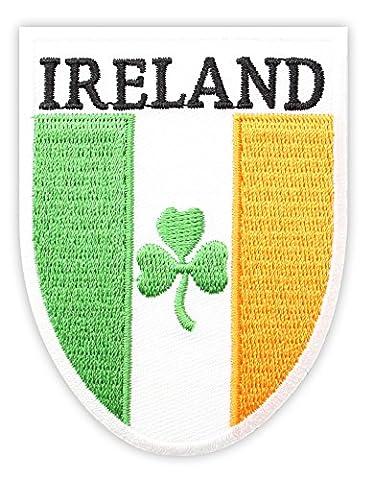 Irish Gifts Drapeau irlandais'Irish Patch-Trèfle-Gifts UK