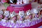 20 Gastgeschenke Torte Taufe Kommunion Tischdeko Bonboniere Deko