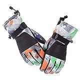 Blisfille Handschuhweich Herren Paar Touchscreen Skihandschuhe Plus Warmes Gepolstertes Rutschfestes Samt Elternteil Kind