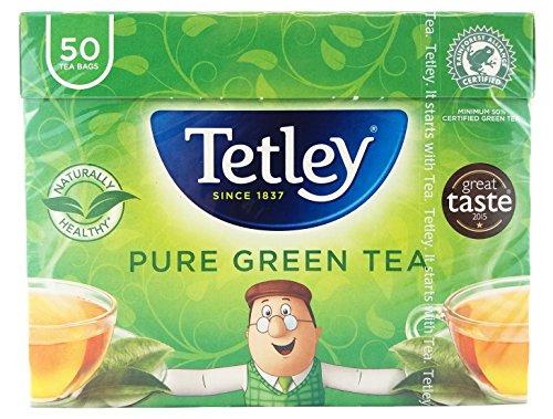 A photograph of Tetley green