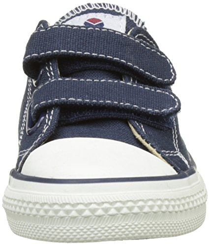 Victoria Zapato Velcros, Baskets Basses Mixte Enfant Bleu (Marino)