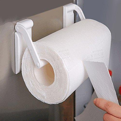netischer Papierhandtuchhalter Handtuchhalter Handtuchhalter Spender Küche Badezimmer Spender Toilettenpapier Ablage Regal ()