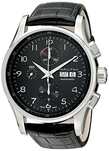 Hamilton Men's HML-H32716839 Jazzmaster Black Dial Watch