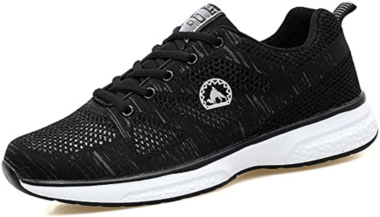 Herren Knit Sneakers Fruumlhjahr/Sommer/Herbst Herren Große Größe Komfort/Atmungsaktives Mesh Casual/Sport Laufschuhe