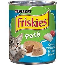 PURINA Friskies Cat Food, Ocean Whitefish & Tuna Dinner, 368 gm