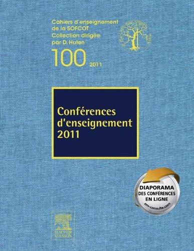 Conférences d'enseignement 2011: Volume 100