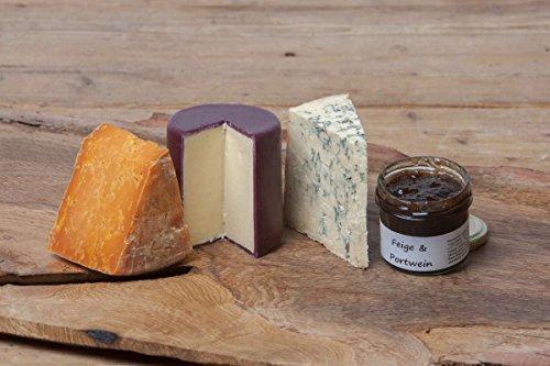 Käseplatte 'Feiner Käse aus England'