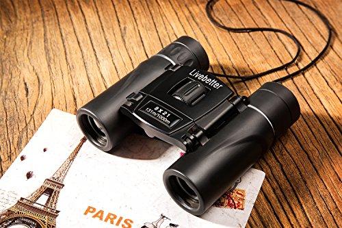 Mini fernglas kompakt falten binocular für kinder und