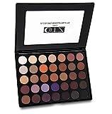 TZ COSMETIX – Pro 35 Farben Makeup Lidschatten Palette natur Warm matt Schimmer Lidschatten Palette Kosmetik Nackt Lidschatten Palette 35H