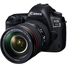 Canon EOS 5D Mark IV 30.4 MP Digital SLR Camera (Black) + EF 24-105mm is II USM Lens Kit