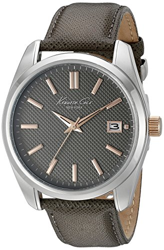 kenneth-cole-gents-grey-strap-watch