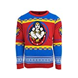 Official Wonder Woman Christmas Jumper/Ugly Sweater - UK XL/US L
