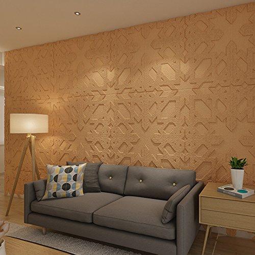Zegeey 3D Brick Wall Sticker Selbstklebende Schaum Tapete Panels Zimmer Abziehbild