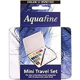 Daler Rowney lattina mini con colori da viaggio Aquafine