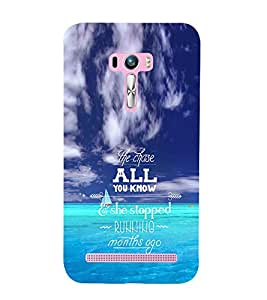 EPICCASE Wonderul quote Mobile Back Case Cover For Asus Zenfone Selfie (Designer Case)
