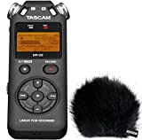Tascam DR-05 V2 Audio-Recorder + KEEPDRUM Fell-Windschutz WSBK