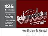 Schlemmerblock Neunkirchen-St. Wendel 2017