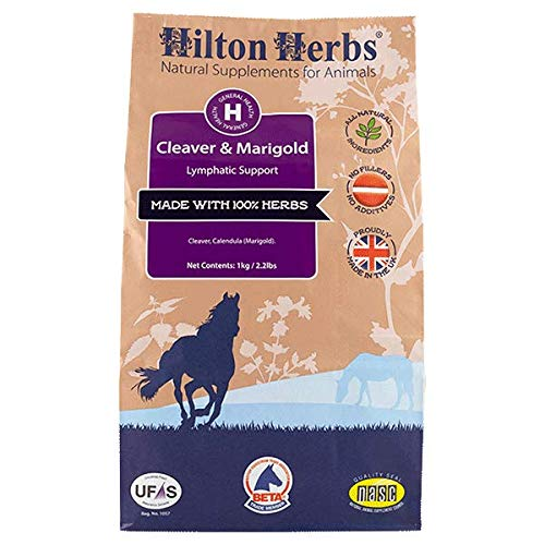 HILTON HERBS Cleavers & Marigold for Horses - 1 kg 1 Cleaver