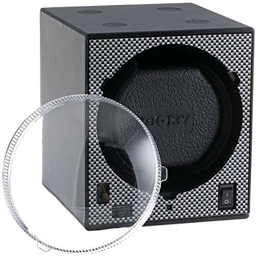 Remontoir Boxy Carbon simple