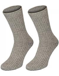6 Paar Norweger-Gesundheits-Socken grau