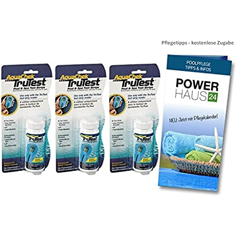 Aquachek Trutest 150 Digital Test strisce (3 dosi da 50 test (Strisce Aqua Test)