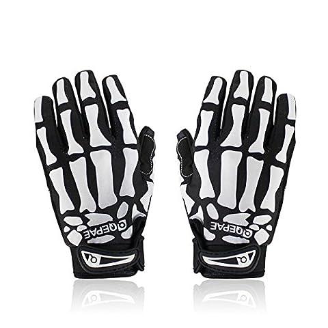Lerway Handschuhe für Fahrrad / Motorrad / Sportliche Aktivitäten im Freien, Handschuhe L schwarz