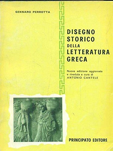 Disegno storico della letteratura greca.