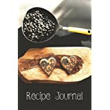 """Recipe Journal: Journal Notebook. Recipe Keeper, Organizer To Write In, Storage for Your Family Recipes. Blank Book. Empty Fill in Cookbook Template 6x9"""" 120 pages"""