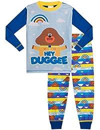 ThePyjamaFactory Boys Hey Duggee Rainbow Pyjamas PJS Blue Hey dugee