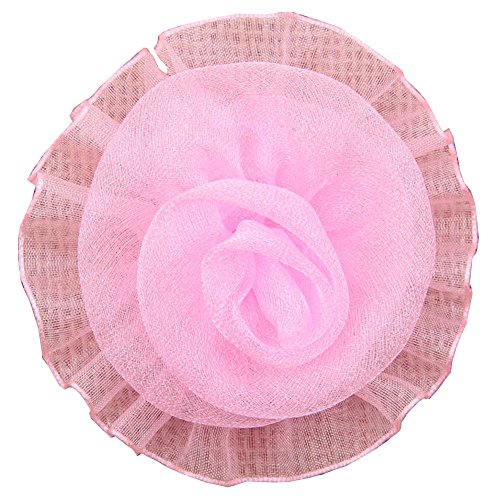 Pur HB00149C Rose Tissu Fleur Coiffe Surker bricolage (20)