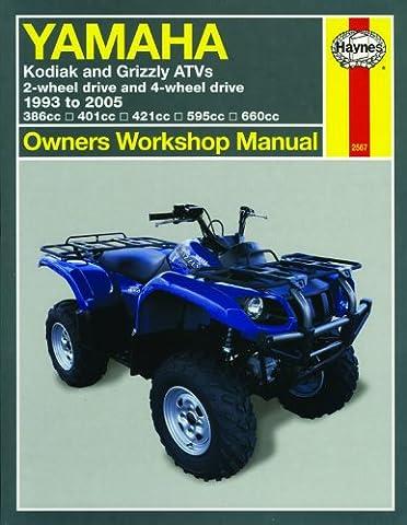 Haynes Werkstatthandbuch für Quad Yamaha Kodiak u. Grizzly